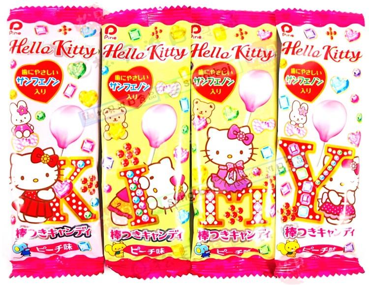 派恩凱蒂貓棒棒糖(桃子)6g【4902435000760】
