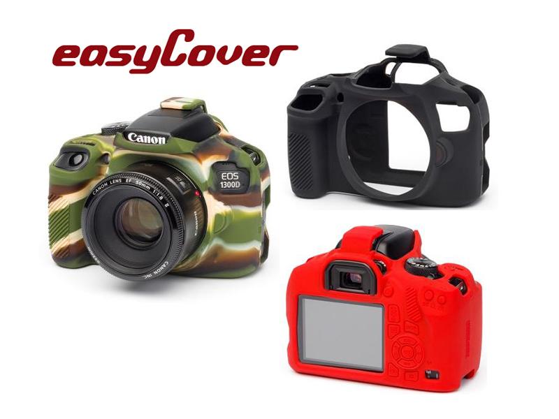 ◎相機專家◎ easyCover 金鐘套 Canon 1300D T6 適用 果凍 矽膠 防塵 保護套 公司貨 另有6D