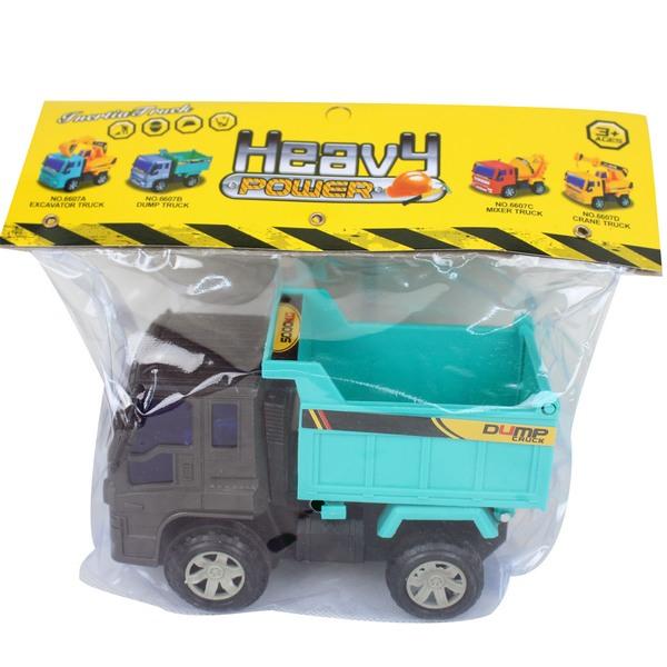 一般砂石車 6607B 慣性工程車玩具(PVC卡紙頭)/一台入{促100}~睿