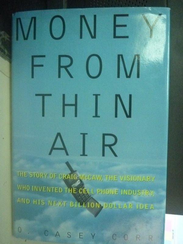 【書寶二手書T6/原文小說_ZDU】Money from Thin Air: The Story
