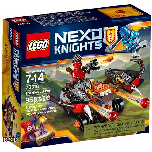 樂高積木LEGO《 LT70318 》Nexo Knights 未來騎士系列 - 爆岩發射攻城車