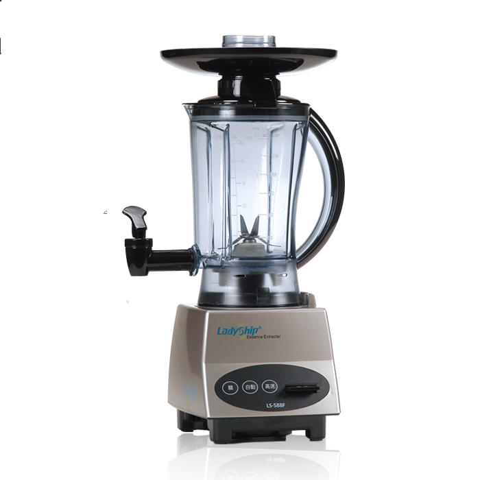 貴夫人生機精華萃取機 LS-588F(1台)食物調理機 果汁機 果菜機榨汁機 TRITAN健康料理杯 抗氧六片式不鏽鋼刀