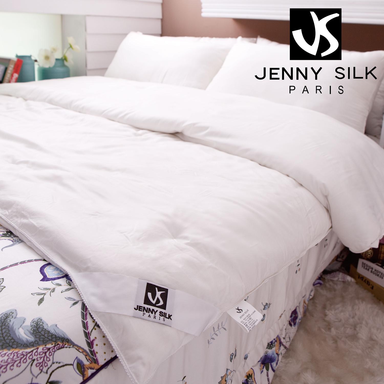 【名流寢飾家居館】Jenny Silk.100%頂級手工長纖蠶絲被.單人尺寸