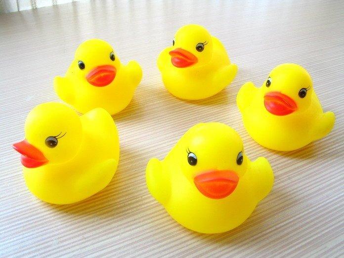 鴨子/超夯黃色小鴨戲水玩具 寶寶洗澡玩具 ☆真愛香水★ 另有藥箱
