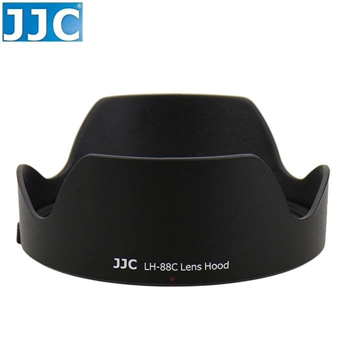 又敗家@JJC佳能Canon副廠遮光罩EF第2代24-70mm F2.8L II USM相容原廠Canon遮光罩EW-88C遮光罩EW-88C太陽罩遮陽罩遮罩lens hood L鏡F2.8 F/2.8 F/2.8L