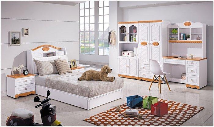 【尚品家具】 HY-A63-02 白色3.5尺床底(有封底)