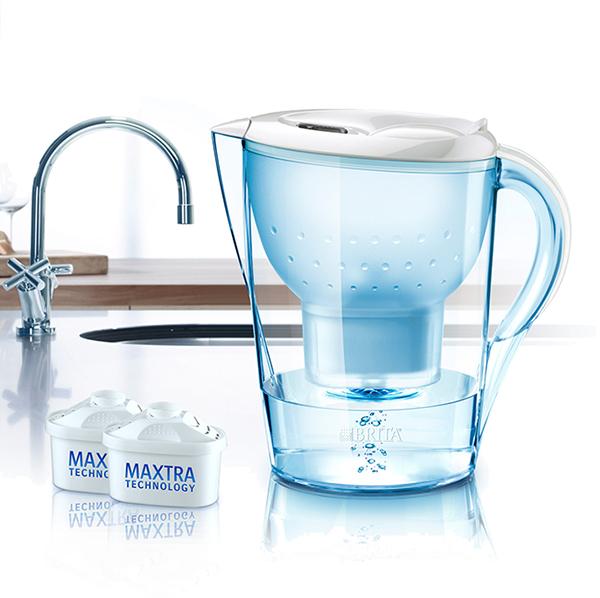 德國BRITA Marella XL 馬利拉 3.5L 濾水壺,1壺+4芯, 白色只賣1500元