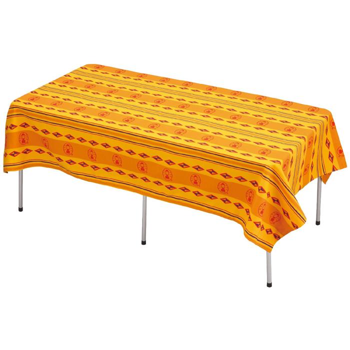 【露營趣】中和 美國 Coleman 防風餐桌布 桌布 /M 桌巾 抗污 防水 露營 郊遊 野餐 CM-9438