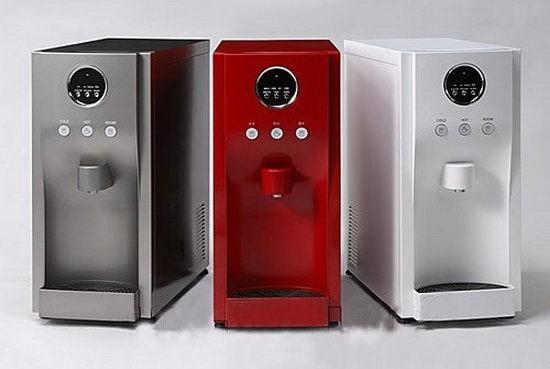 [陳先生專區] HS190/HM190桌上型冰冷熱飲水機(內置快拆RO逆滲透系統)(彩黑色)(自行安裝)