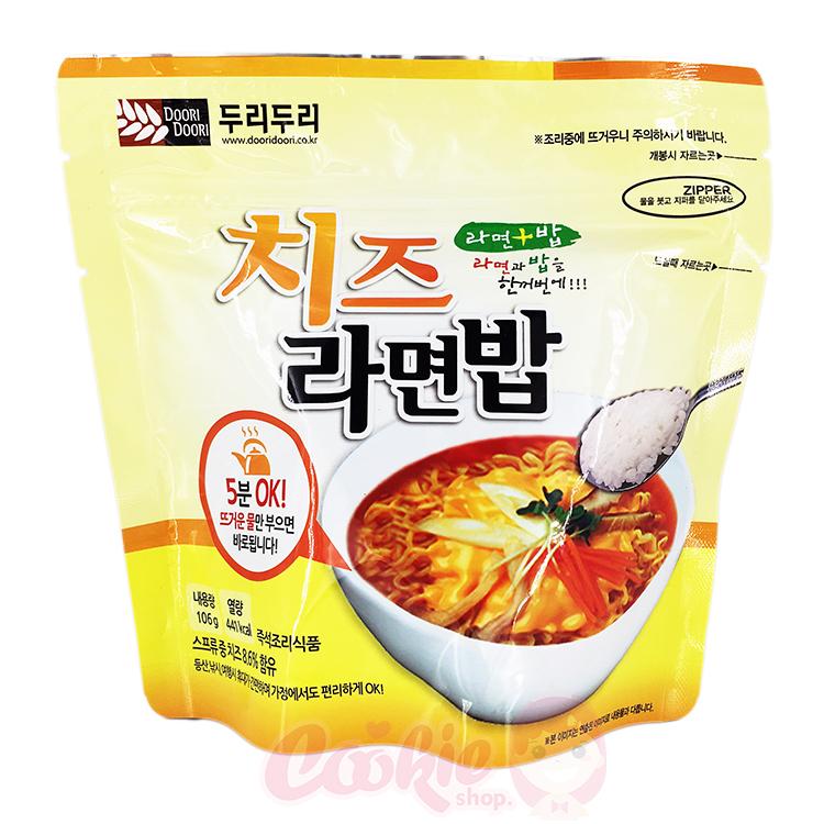 韓國 DOORI DOORI 泡飯麵 起司口味(106g)【庫奇小舖】