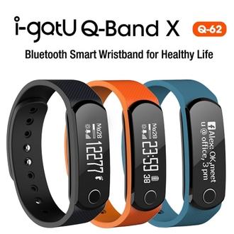 i-gotU Q-62 Q-Band X 智慧健身手環 藍牙4.0 運動藍芽手環 內建UV感應器