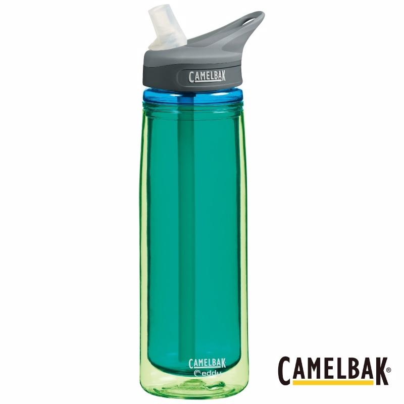 ├登山樂┤美國 Camelbak EDDY™ 多水雙層隔溫吸管水瓶 600ml 清玉 #CB53541