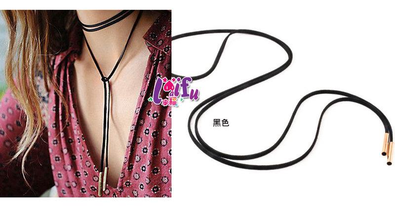 ★草魚妹★H413頸鍊歐美仿麂皮頸鍊美國嬉皮項鍊,售價129元