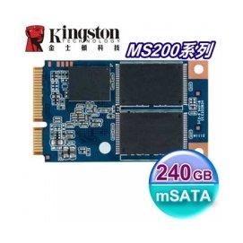 Kingston 金士頓 SSD MS200 240GB【SMS200S3】mSATA介面 固態硬碟
