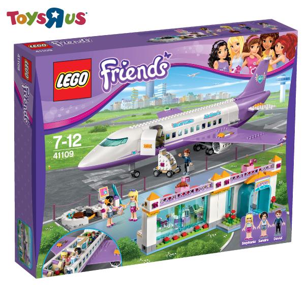 玩具反斗城 樂高 LEGO 心湖城機場-41109***