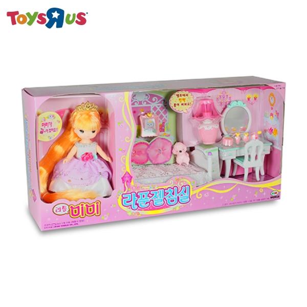 迷你MIMI長髮公主臥室組 玩具反斗城