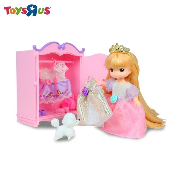 迷你MIMI長髮公主衣櫥組 玩具反斗城