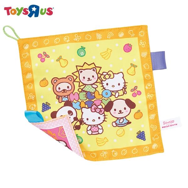 Hello Kitty安撫手帕 玩具反斗城