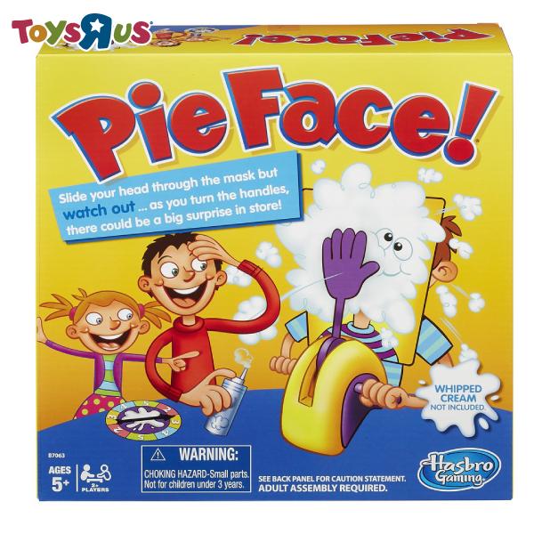 玩具反斗城   砸派遊戲組 pie face pieface