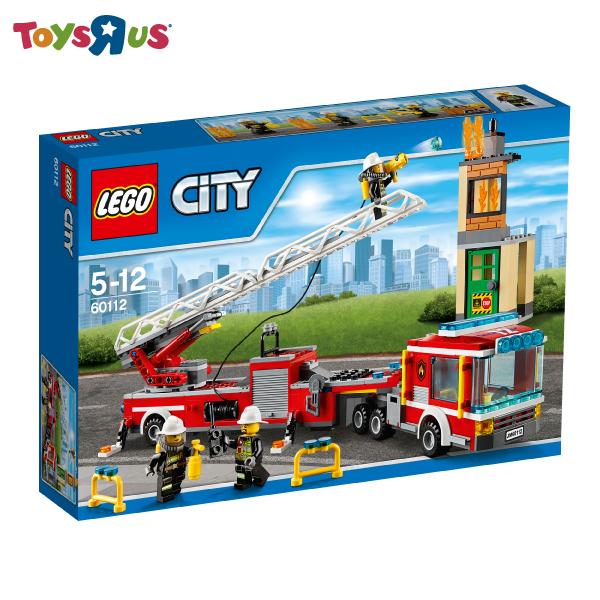 玩具反斗城   樂高 Lego City 消防車-60112***