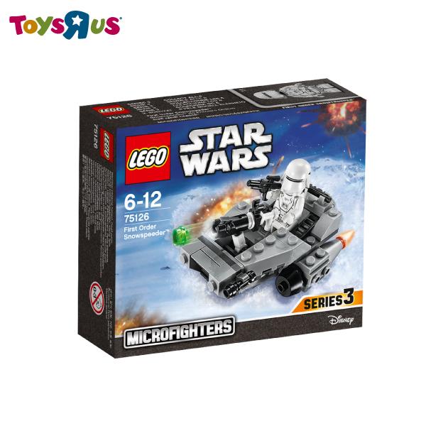玩具反斗城   樂高 LEGO 75126  星際大戰 star wars First Order Snowspeeder 第一秩序***