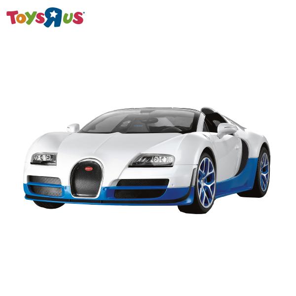 玩具反斗城  RASTAR 1:14 布加迪遙控車