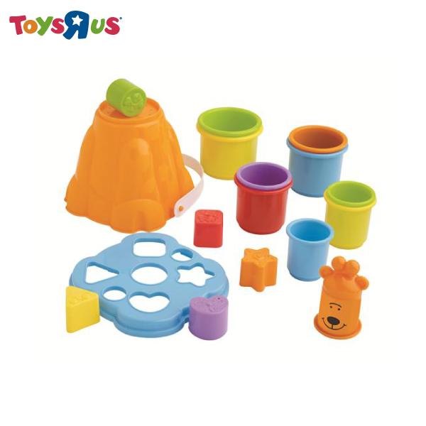 玩具反斗城【BRUIN】寶寶疊杯樂