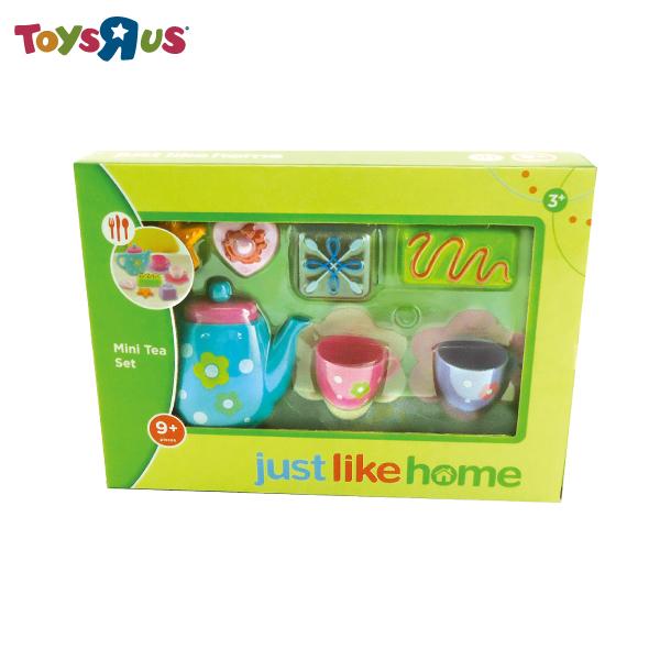 玩具反斗城【JUST LIKE HOME】粉紅小花兒下午茶組