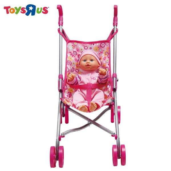 玩具反斗城【YOU & ME】嬰兒娃娃與推車
