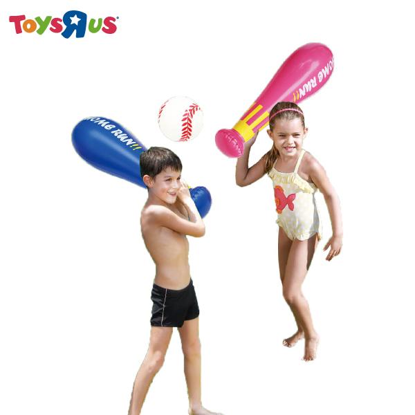 玩具反斗城  【SIZZLIN COOL】充氣棒球組