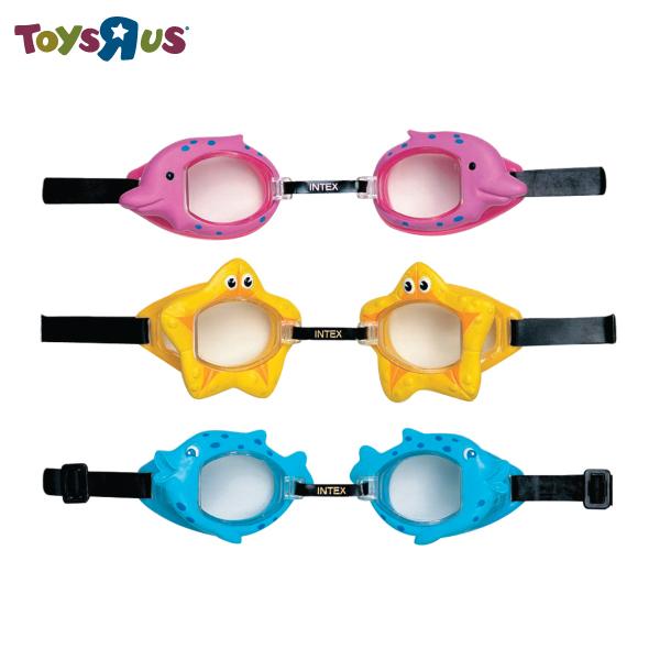 玩具反斗城  【INTEX】兒童蛙鏡