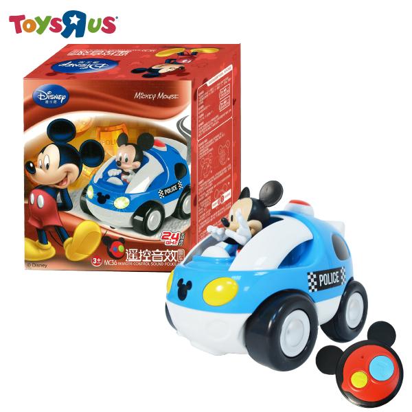 玩具反斗城  米奇聲光遙控車-警車