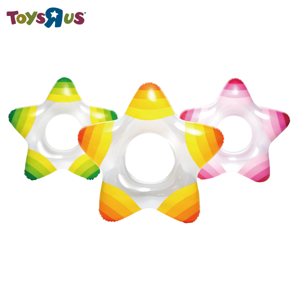 玩具反斗城  海星造型泳圈