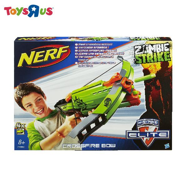 玩具反斗城  Nerf 打擊者十字火弓