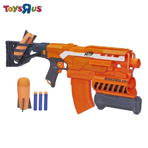 NERF全自動2合1榴彈電動連發衝鋒槍 玩具反斗城