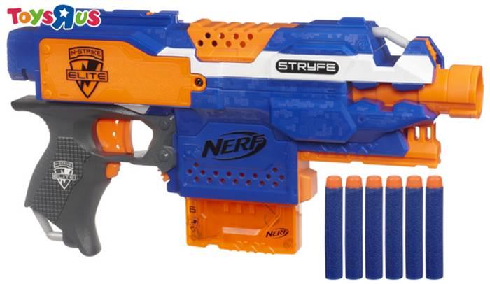玩具反斗城 【Nerf】殲滅者自動衝鋒槍
