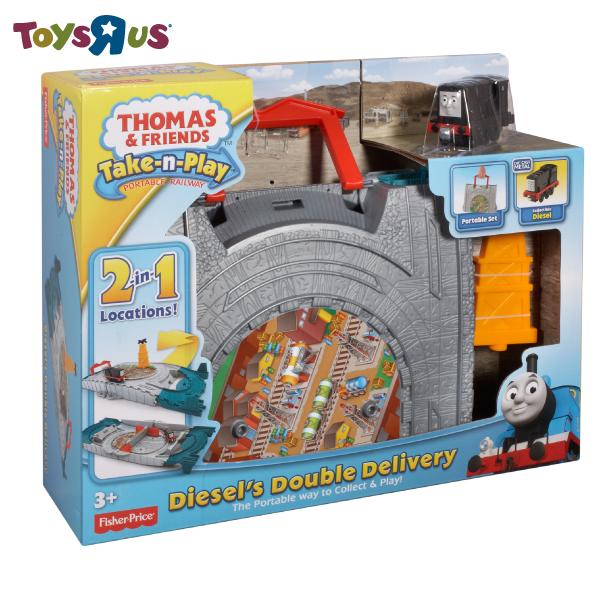 湯瑪士帶著走-二合一迪索運輸組 玩具反斗城