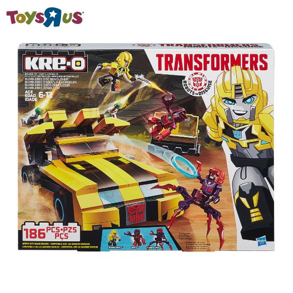 KRE-O積木組- 變形金剛 大黃蜂追擊組 玩具反斗城