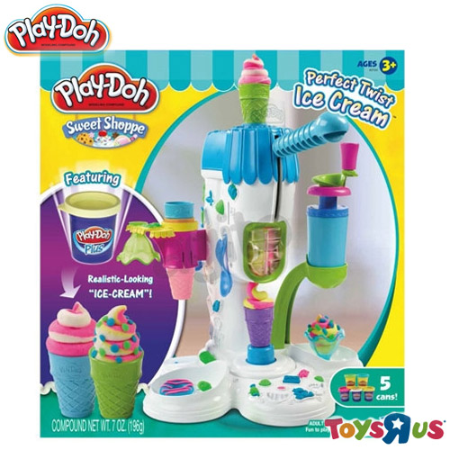 【Play-Doh 培樂多黏土】霜淇淋機遊戲組_玩具反斗城
