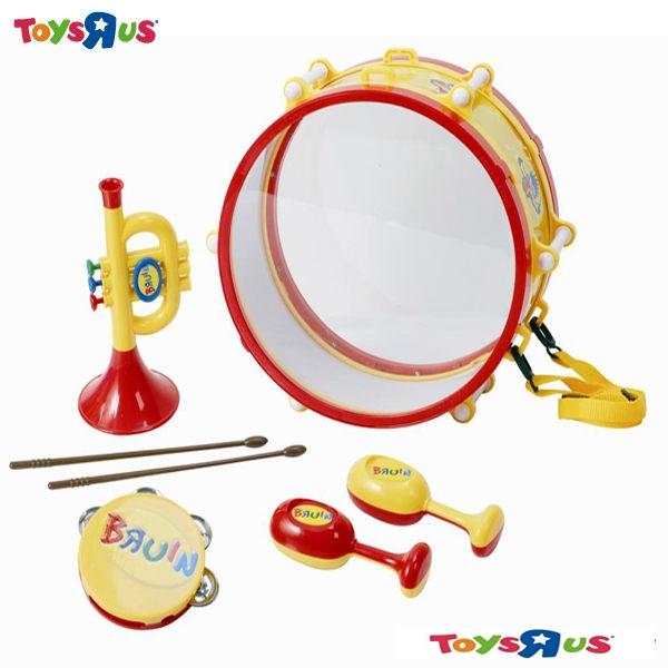 玩具反斗城 Bruin小熊寶雲歡樂樂器組