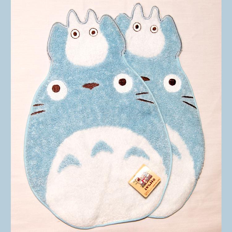 TOTORO 龍貓 純棉 立體方巾 毛巾 手帕 日本帶回正版品