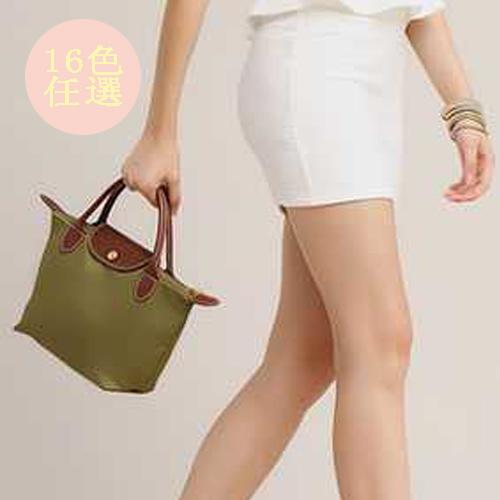 手提包 輕巧實用手提包 托特包 小水餃包 - 包包阿者西