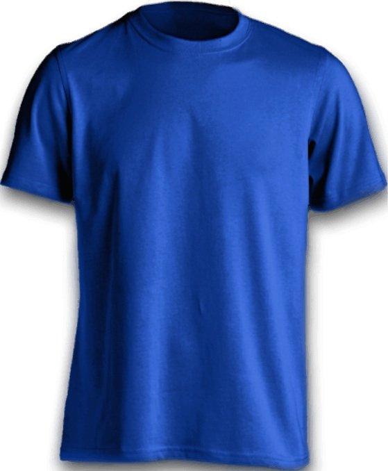 都會型男必備款 寶藍色素面T恤 台南紡織HiCool機能性吸濕排汗 速乾彈性佳 涼感抗UV