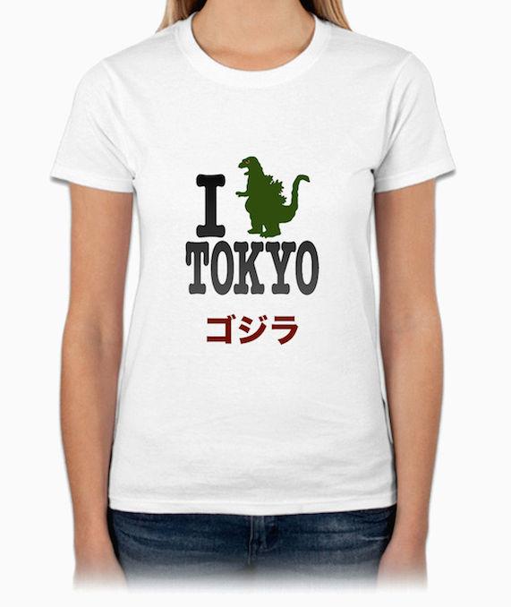 Godzilla『ゴジラ』50週年紀念 HiCool機能性吸濕排汗圓領T恤