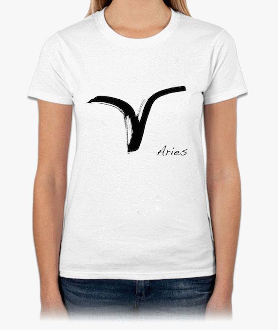 十二星座ARIES『牡羊』HiCool機能性吸濕排汗圓領T恤