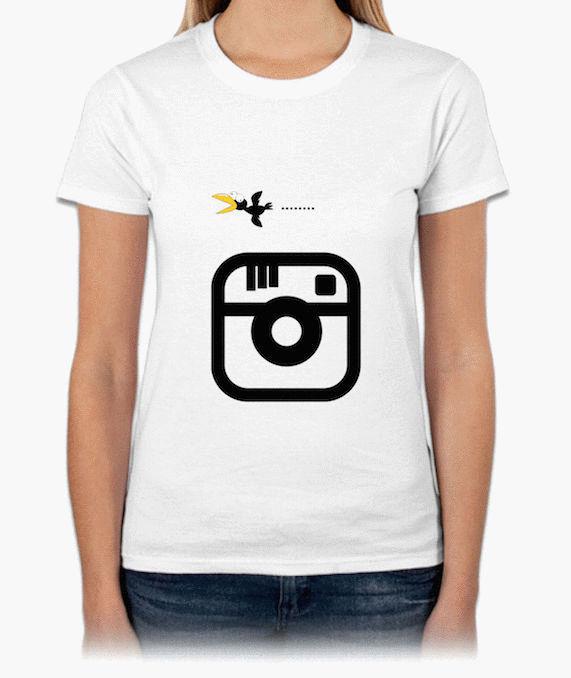 Insta『三條線』HiCool機能性吸濕排汗圓領T恤