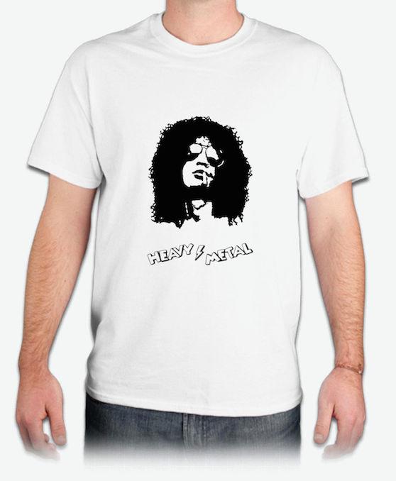 槍與玫瑰『SLASH』肖像 HiCool機能性吸濕排汗圓領T恤
