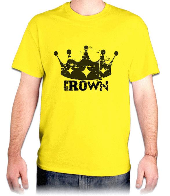 CROWN『皇冠』HiCool機能性吸濕排汗圓領T恤