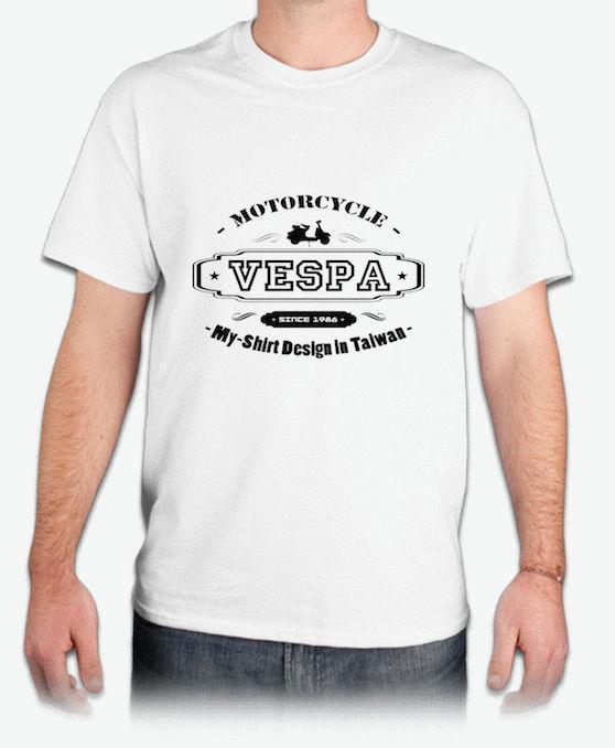 『VESPA』HiCool機能性吸濕排汗圓領T恤