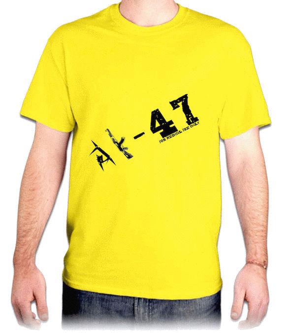 『AK-47』HiCool機能性吸濕排汗圓領T恤